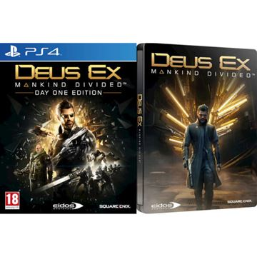 Igra za SONY PlayStation 4, Deus Ex: Mankind Divided Steelbook PS4
