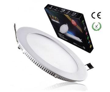 LED Panel LEDISON, slim okrugli, 20W, 4000K, fi 240/220