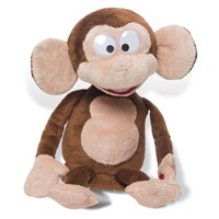 Plišana igračka IMC TOYS 93980, Majmun koji se smije