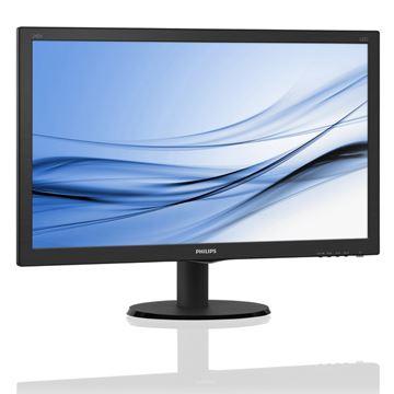 "Monitor 23.8"" LCD PHILIPS 240V5QDAB, IPS-ADS, 5ms, 250cd/m2, 10.000.000:1, HDMI, VGA, DVI-D, zvučnici, crni - razred energetske učinkovitosti B"