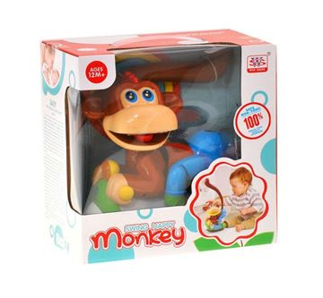Igračka WEN SHENG GR0218, Majmun na motoru (Swing Happy Monkey)