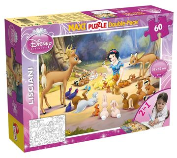 Slagalica LISCIANI, Maxi Puzzle, Snjeguljica, 60 komada