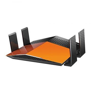 ADSL router D-LINK DIR-879, EXO AC-1900, 802.11a/b/g/n/ac, Dual Band, 4GB LAN + 1GB WAN, 4 antene, bežični
