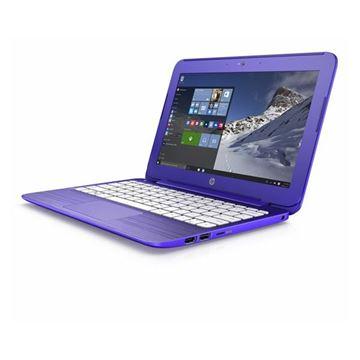 "Prijenosno računalo HP Stream 11-r001nm W0X68EA / DualCore N2840, 2GB, 32GB EMMC, HD Graphics, 11,6"" LED HD, WiFi, BT, kamera, HDMI, USB 3.0, Windows 10, ljubičasto"