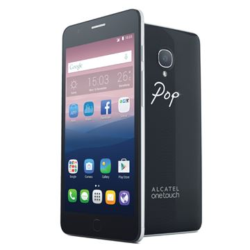 "Smartphone ALCATEL POP UP 3G OT-6044D, 5""  multitouch HD, OctaCore 1.4 GHz, 2GB RAM, 16GB Flash, kamera, Dual SIM, BT, 4G LTE, GPS, Android 5.0, crni"