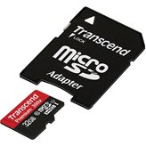 Memorijska kartica TRANSCEND Premium 400X TS32GUSDU1, SDHC UHS 1, 32GB  + adapter