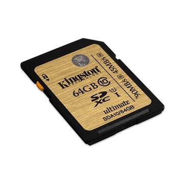 Memorijska kartica KINGSTON SDA10, SDHC/SXHC UHS-I, 64GB Ultimate class 10