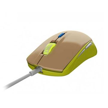 Miš STEELSERIES Rival 100, optički, 4000cpi, Gaia Green, USB