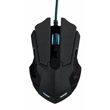 Miš TRUST GXT 158, Gaming, laserski, 5000dpi, USB, crni