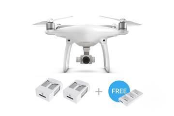Drone DJI Phantom 4, 4K UHD kamera, 3D gimbal, upravljanje daljinskim upravljačem + 2x dodatna baterija i punjač