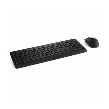 Tipkovnica + miš MICROSOFT Wireless Desktop 900, bežična, crna, USB