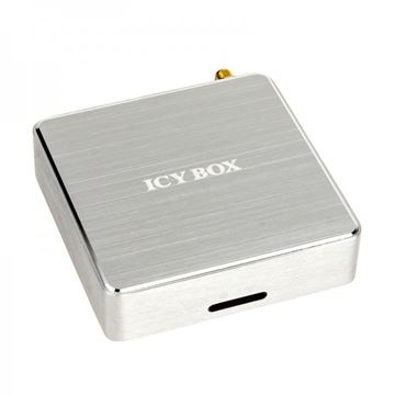 Audio streaming ICY BOX IB-MP401Air, WiFi, S/PDIF, 3,5mm, USB, srebrno