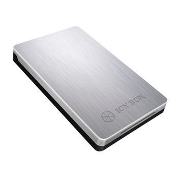 """Eksterno kućište ICY BOX IB-234U3a, aluminijsko kućište, 2.5"""" SATA - USB 3.0, srebrno"""
