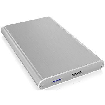 """Eksterno kućište ICY BOX IB-242U3, aluminijsko kućište, 2.5"""" SATA - USB 3.0 micro-B, srebrno"""