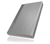"Eksterno kućište ICY BOX IB-230StU3-G, 2.5"" SATA - USB 3.0, srebrno"