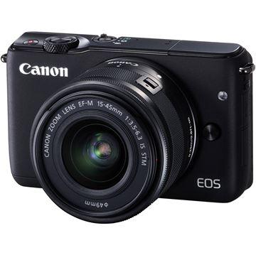 "Digitalni fotoaparat CANON EOS M10 + objektiv 15-45, 18Mpixela, NFC, touch, 3"" LCD"