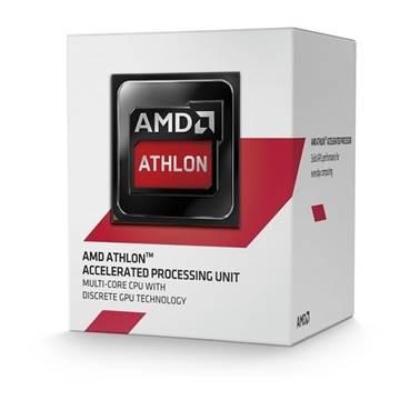 Procesor AMD Athlon X4 5370 BOX, s. AM1, 2.0GHz, 2MB cache, GPU Radeon R3, Quad Core