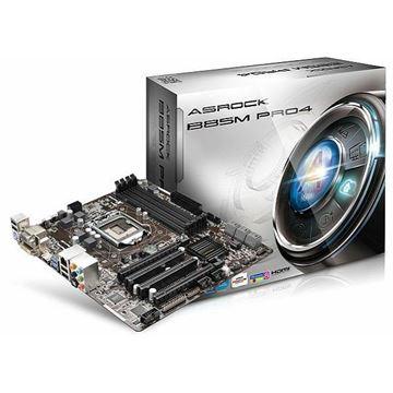 Matična ploča ASROCK B85M-PRO4, Intel B85, DDR3, SATA, PCI-E, G-LAN, D-Sub, HDMI, DVI-D, zvuk, USB 3.0, mATX, s. 1150