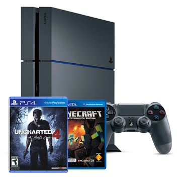 Igraća konzola SONY PlayStation 4, 1000GB C Chassis Special Edition + Uncharted 4: A Thief's End + Minecraft