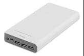 Mobilni USB punjač DELTACO PB-815, 16000 mAh, LED, bijeli