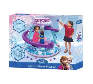 Aktivni centar na napuhavanje JAKKS 3362, Disney Frozen, 50 loptica