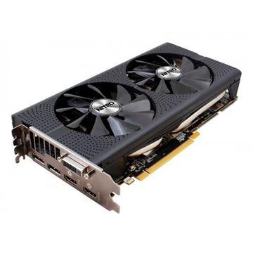 Grafička kartica PCI-E SAPPHIRE AMD RADEON RX 480 Nitro+ OC, 4GB DDR5, HDMI, DP