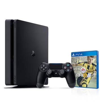 Igraća konzola SONY PlayStation 4, 1000GB, Slim D Chassis + FIFA 17 PS4