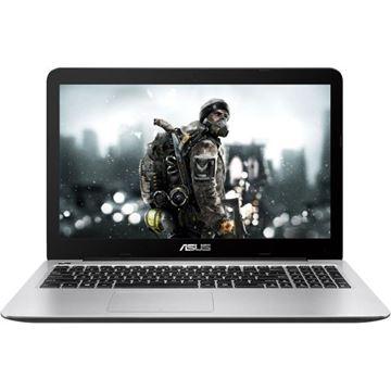 """Prijenosno računalo ASUS K556UQ-DM002D / Core i7 6500U, DVDRW, 8GB, 1000GB, GeForce GTX 940MX, 15.6"""" LED FHD, G-LAN, HDMI, BT, kamera, USB 3.1, DOS, srebrno"""