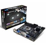 Matična ploča USED BIOSTAR Hi-Fi H87S3+, Intel H87, DDR3, zvuk, S-ATA, G-LAN, RAID, PCI-E 3.0, USB 3.0, D-SUB, DVI, HDMI, mATX, s. 1150