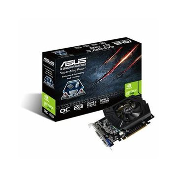 Grafička kartica USED PCI-E ASUS GeForce GT 740 OC, 2GB DDR5, D-SUB, DVI, HDMI