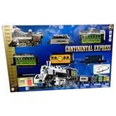 Igračka GOLDLOK GL 9700-04, Continental Express, vlak na baterije, lokomotiva i četri vagona