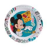 Dječji tanjur TRUDEAU 6528010, Disney, Mickey, 22cm