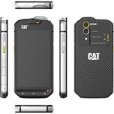 "Smartphone CAT S60, 4.7"" multitouch, OctaCore MSM8952-3 Snapdragon 617 1.5 GHz, 3GB RAM, 32GB Flash, MicroSD, NFC, GPS, 4G/LTE, BT, Android 6.0, posebni dizajn za otpornost, termalna kamera, crni"