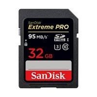 Memorijska kartica SANDISK, SDHC Extreme Pro, 32 GB, SDSDXXG-032G-GN4IN, class 10, V30 UHS-I U3, 95MB/s