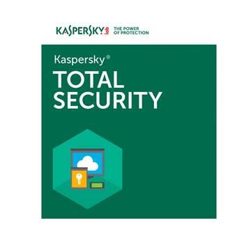 KASPERSKY Total Security 2016, 1D + 1gratis, retail