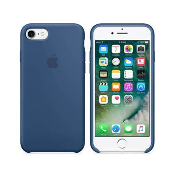 Cover APPLE Silicone Case, za IPHONE 7, Ocean Blue, tamno plava