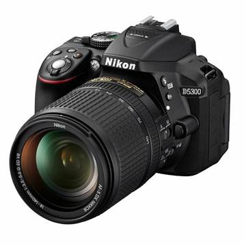 Digitalni fotoaparat NIKON D5300, 24.2 Mpixela, 3x optički zoom, SD/SDHC/SDXC/UHS-I, USB, + objektiv AF18-140 VR