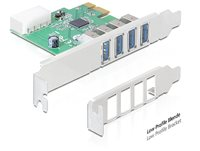 Kontroler PCI-E, 4x USB 3.0-A