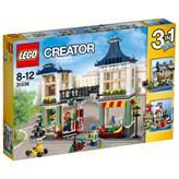 LEGO 31036, Creator, Toy & Grocery Shop, prodavaonica igračaka i namirnica