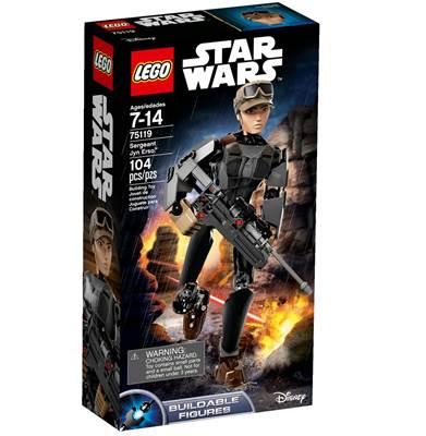 LEGO 75119, Star Wars, Sergeant Jyn Erso, figurica, 24cm