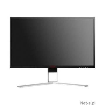 "Monitor 27"" LED AOC AGON AG271QX, 144 Hz, 1ms, 350cd/m2, 50.000.000:1, D-Sub, HDMI, DP, MHL, zvučnici, USB 3.0, pivot, crni"