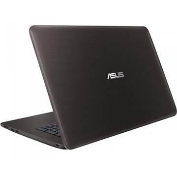 """Prijenosno računalo ASUS K756UQ-T4022D / Core i7 6500U, DVDRW, 8GB, 1000GB, GeForce 940M, 17.3"""" LED FHD, HDMI, BT, kamera, USB 3.1, DOS, smeđe"""