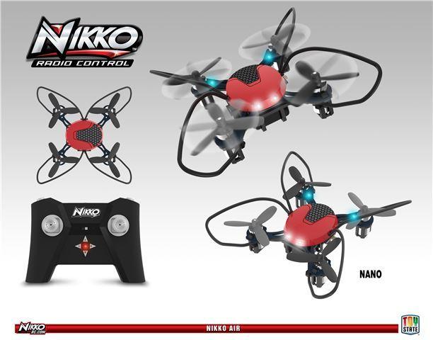 Dron NIKKO 22621, Air NANO, 2 4G, upravljanje daljinskim upravljačem