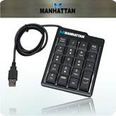 Numerička tipkovnica MANHATTAN Numeric KeyPad, crna, USB