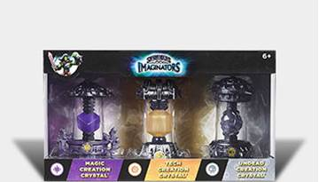 Dodatak za igru Skylander, Imaginators Creation Crystal Triple Pack (Magic, Tech, Undead)