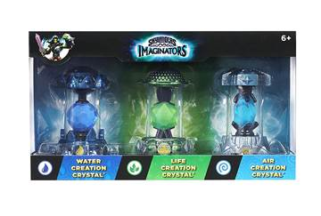 Dodatak za igru Skylanders, Imaginators Creation Crystal Triple Pack (Water, Life, Air)