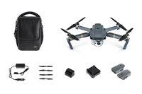 Drone DJI Mavic Pro Fly More Combo, 4K UHD kamera, 3D gimbal, upravljanje daljinskim upravljačem + dodatna oprema