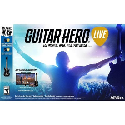 Igra za iOS, Guitar Hero LIVE