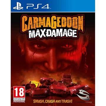 Igra za SONY PlayStation 4, CarmaGeddon Max Damage PS4