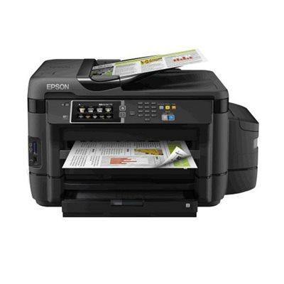 Multifunkcijski uređaj EPSON L1455, print/scan/copy/fax, Ink Tank System -> iznimno povoljan ispis, A3/A4, duplex, LAN, WiFi,4800 dpi, USB